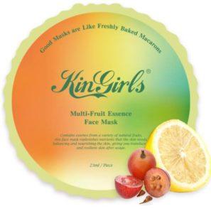 KinGirls Maseczka w Płacie - Multi-Fruit