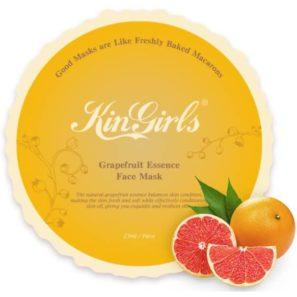 KinGirls Maseczka w Płacie - Grapefruit