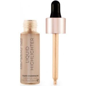 Makeup Revolution Rozświetlacz w Płynie - Champagne Liquid Highlighter