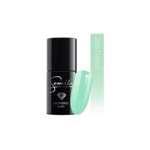 Semilac Lakier Hybrydowy - 266 Green Pastells