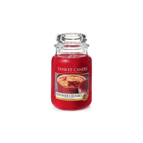 Yankee Candle Rhubarb Crumble - Świeca Duża