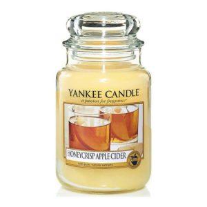 Yankee Candle Honeycrips Apple Cider - Świeca Duża