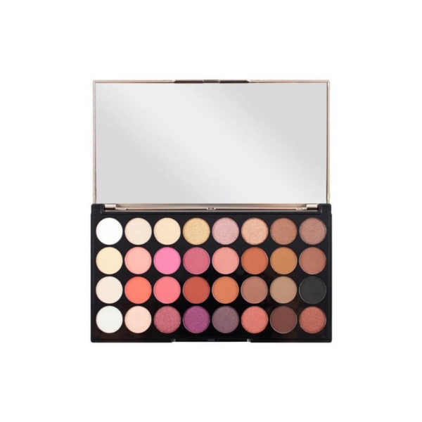 Makeup Revolution Paleta 32 Cieni FLAWLESS 4