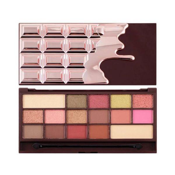 Makeup Revolution Paleta I Heart Chocolate - Rose Gold