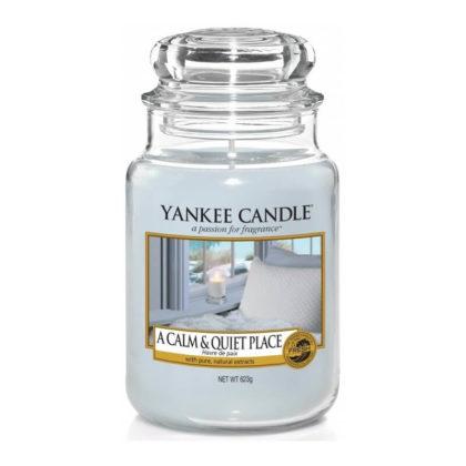Yankee Candle A Calm & Quiet Place - Świeca Duża