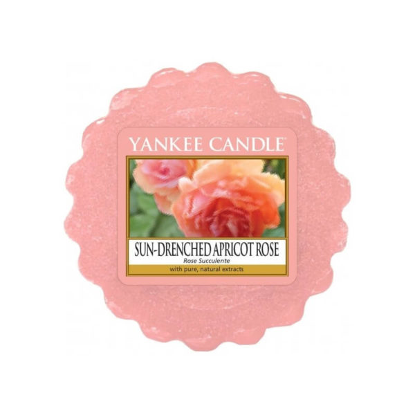 Yankee Candle Sun-Drenched Apricot Rose - Wosk