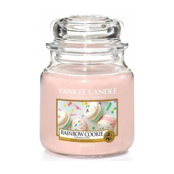 Yankee Candle Rainbow Cookie - Świeca Średnia