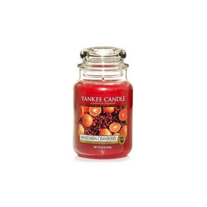 Yankee Candle Mandarin Cranberry - Świeca Duża