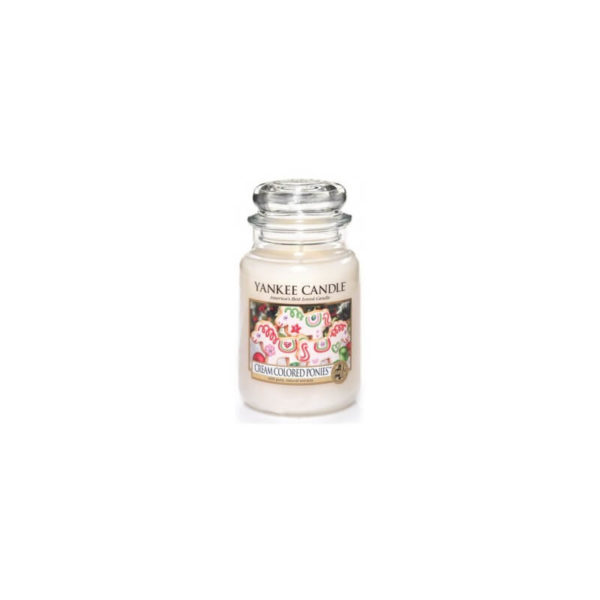 Yankee Candle Cream Colored Ponies - Świeca Duża