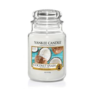 Yankee Candle Coconut Splash - Świeca Duża