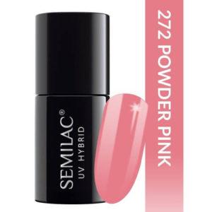 Semilac Pastells 272 Powder Pink