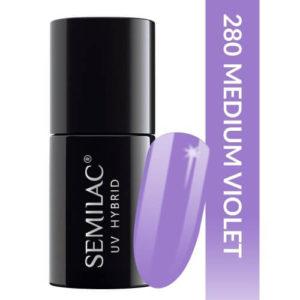 Semilac Pastells 280 Medium Violet