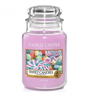 Yankee Candle Sweet Candies - Świeca Duża