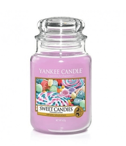 Yankee Candle Sweet Candies - Świeca Duża