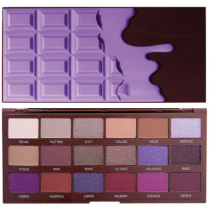 Makeup Revolution Paleta I Heart Chocolate - Violet