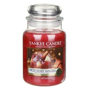 Yankee Candle Spiced Berry Sangria - Świeca Duża