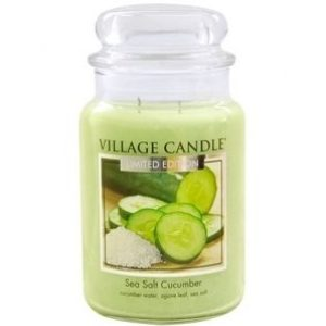 Village Candle Sea Salt Cucumber - Świeca Duża