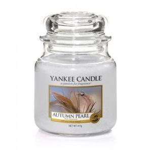 Yankee Candle Autumn Pearl - Świeca Średnia