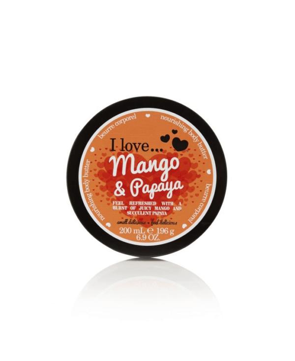 I Love Masło do Ciała - Mango & Papaja