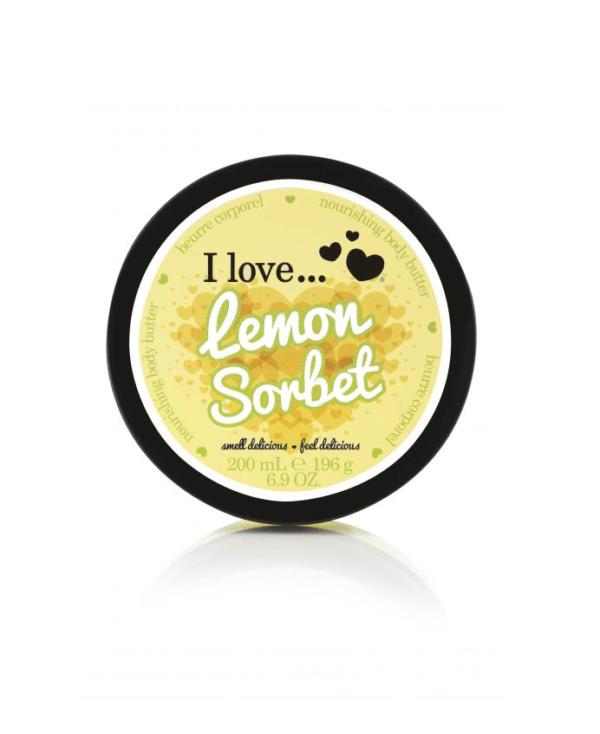 I Love Masło do Ciała - Cytrynowy Sorbet
