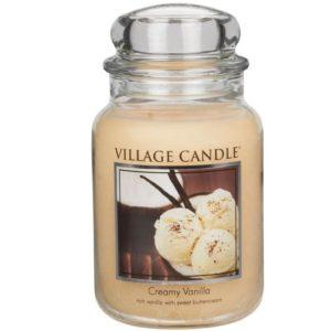 Village Candle Creamy Vanilla - Świeca Duża