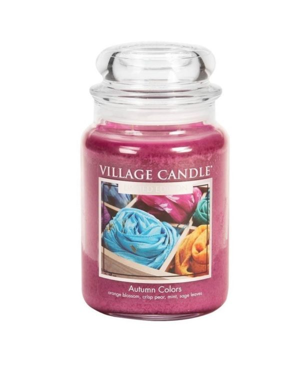Village Candle Autumn Colors - Świeca Duża