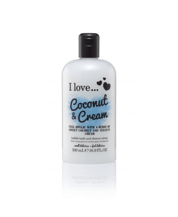 I Love Żel do Kąpieli - Kokosowy Krem