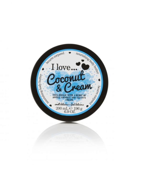 I Love Masło do Ciała - Kokosowy Krem