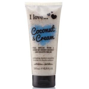 I Love Peeling pod Prysznic - Kokosowy Krem