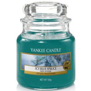Yankee Candle Icy Blue Spruce - Świeca Mała