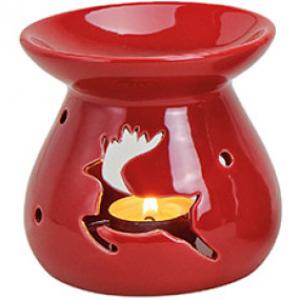 Kominek Ceramiczny - Renifer Czerwony