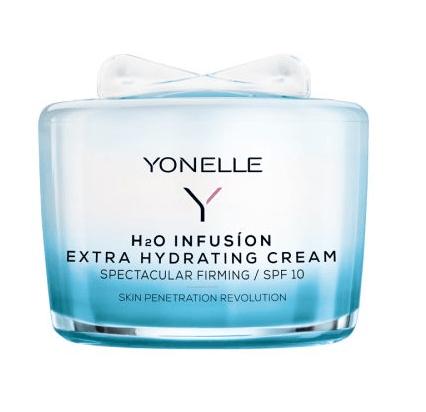 Yonelle H2O Infusion - Krem Extra Nawilżający SPF 10