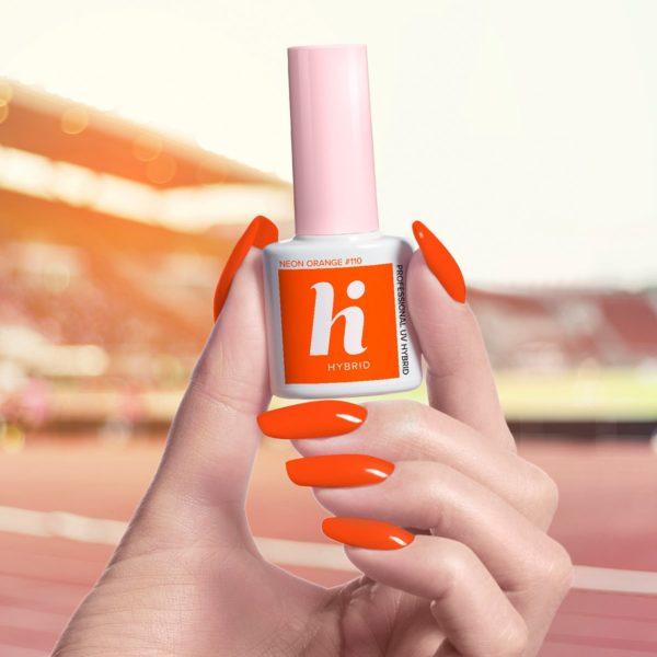 Hi Hybrid Lakier Hybrydowy 110 - Neon Orange
