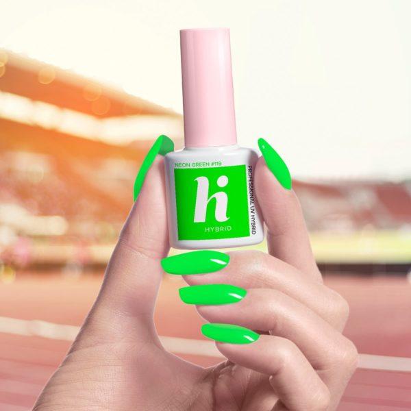 Hi Hybrid Lakier Hybrydowy 119 - Neon Green
