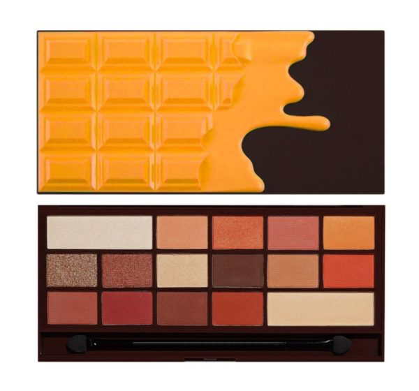 Makeup Revolution Paleta I Heart Chocolate - Orange