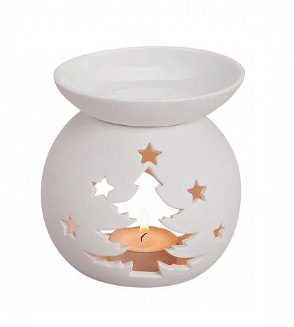 Kominek Ceramiczny - Ażurkowa Choinka