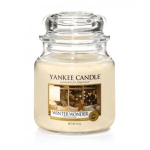 Yankee Candle Winter Wonder - Świeca Średnia