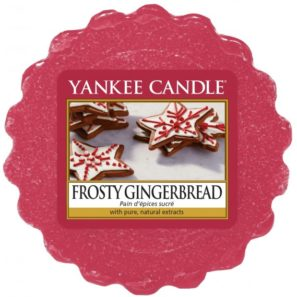 Yankee Candle Frosty Gingerbread - Wosk