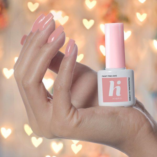 Hi Hybrid Lakier Hybrydowy 205 - Faint Pink
