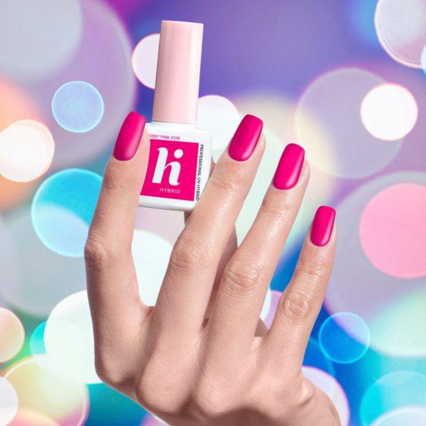 Hi Hybrid Lakier Hybrydowy 219 - Glossy Pink