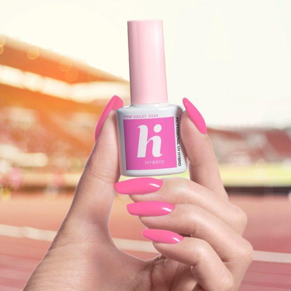 Hi Hybrid Lakier Hybrydowy 224 - Pink Violet