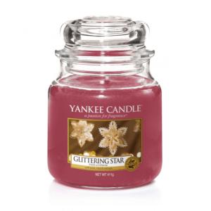 Yankee Candle Glittering Star - Świeca Średnia