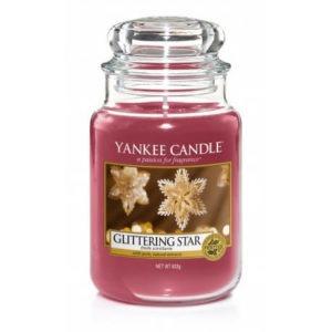 Yankee Candle Glittering Star - Świeca Duża