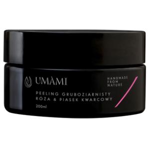 Umami Peeling Kwarcowy - Róża & Piasek Gruboziarnisty
