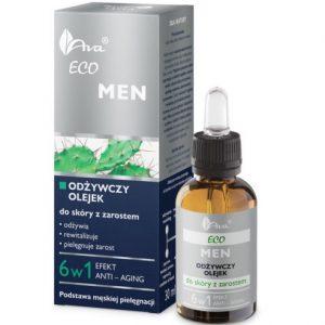 Ava Eco Men - Olejek do Skóry z Zarostem