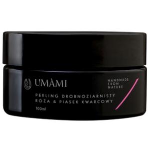 Umami Peeling Kwarcowy - Róża & Piasek Drobnoziarnisty
