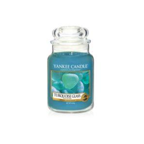 Yankee Candle Turquoise Glass - Świeca Duża