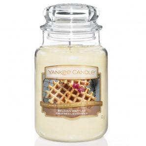 Yankee Candle Belgian Waffles - Świeca Duża