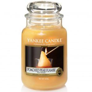 Yankee Candle Poached Pear Flambe - Duża Świeca