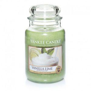 Yankee Candle Vanilla Lime - Świeca Duża